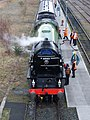 60163 Tornado 12 March 2009 Tyne Yard pic 6.jpg