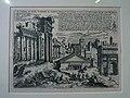 653 Casa Museu Benlliure (València), Temples del Fòrum Romà, gravat de G.B. Pittoni.jpg
