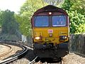 66095 and 66 number 070 Dollands Moor to Wembley (26285060704).jpg