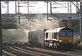 66 418 Freightliner (ex-DRS) 4L96 Trafford Park-Felixstowe at Rugby Trent Valley Jnc.jpg