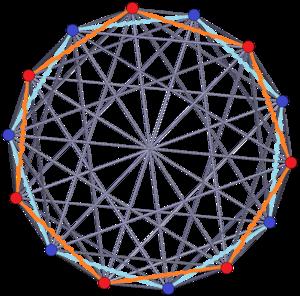 Tetradecagon - Image: 7 7 duopyramid ortho