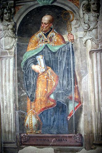 January 25 (Eastern Orthodox liturgics) - Image: 7327 Milano San Simpliciano Transetto des. Aurelio Luini, affreschi base Organo Foto Giovanni Dall'Orto 25 mar 2007