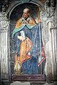 7327 - Milano - San Simpliciano - Transetto des. - Aurelio Luini, affreschi base Organo - Foto Giovanni Dall'Orto - 25-mar-2007.jpg