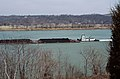 88c154 Barbara downbound with a coal tow near Foster, Kentucky (27828907821).jpg