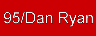 95th/Dan Ryan station - 95/Dan Ryan destination sign