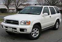 2002 Nissan Pathfinder photographed in USA.