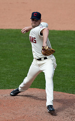 Kerry Wood - Wood pitching for the Cleveland Indians in 2010.
