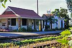 This late Edwardian railway station is situated on the Port Shepstone to Harding narrow gauge line (technically a train Line) which was constructed during 1917. The platform is raised only slightly at the railway tracks as was the custom at the time. Type of site: Railway Station Current use: station.