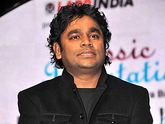 A. R. Rahman - A. R. Rahman at the 57th Filmfare Awards, 2012