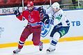 A.Radulov and A.Loginov 2012-11-02 CSKA Moscow—Amur Khabarovsk KHL-game.jpeg