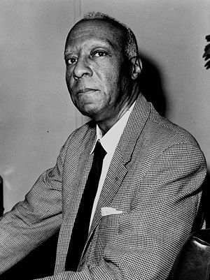 "American Left - Socialist A. Philip Randolph led the 1963 March on Washington at which Martin Luther King, Jr. delivered his speech ""I have a dream""."