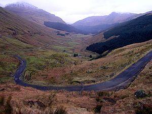 A83 road - Image: A83, Glen Croe, Rest & Be Thankful RLH