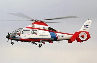 Eurocopter AS365 Dauphin - AS365 N2 Dauphin 2 of the Icelandic Coast Guard
