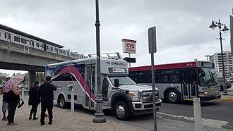 Puerto Rico Metropolitan Bus Authority - Sagrado Corazón Station