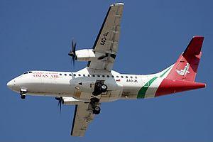 Oman Air - A former Oman Air ATR 42-500