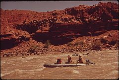 A River Trip Into Canyonlands National Park Conducted by Tag - Along - Tours of Moab, 05-1972 (3856290729).jpg