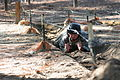 A Special Forces Assessment and Selection candidate conducts training at the Nasty Nick obstacle course Camp Mackall in Hoffman, N.C., September 2009 091009-A-GV060-075.jpg