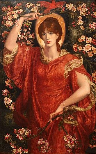 Elegia di Madonna Fiammetta - A Vision of Fiammetta di Dante Gabriel Rossetti