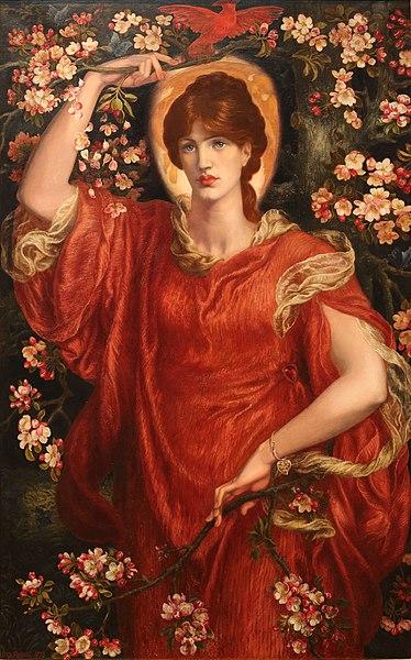 ファイル:A Vision of Fiammetta by Dante Gabriel Rossetti.jpg