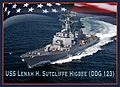 A graphic representation of the future guided-missile destroyer USS Lenah H. Sutcliffe Higbee (DDG 123). (27079514023).jpg