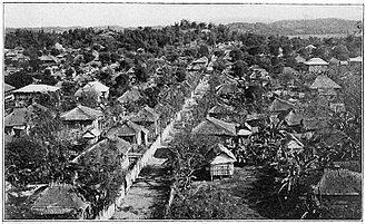 Laoag - A street of Laoag, the capital of Ilocos Norte, 1900–1913