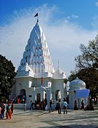 A temple in Mansa Devi temple complex, Panchkula near Chandigarh