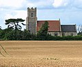 A view of St Michael's church from Rectory Road - geograph.org.uk - 1406542.jpg