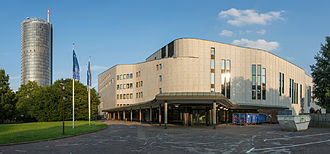 Aalto Theatre - Image: Aalto Theater Abends 02 2014