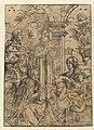 Aanbidding der drie koningen Scènes uit het leven van Christus (serietitel), RP-P-OB-2199.jpg