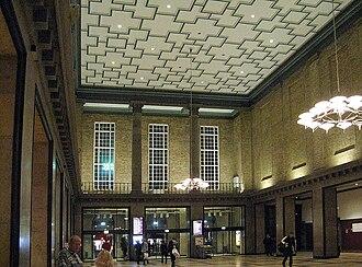 Aarhus Central Station - Image: Aarhus H forhallen