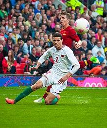 Muniain (back) chasing Abdelatif Noussir at the 2012 Olympics. 819d159ce48fe