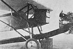 Abreu AE-5 with engine fuel tank detached Aero Digest June 1929.jpg
