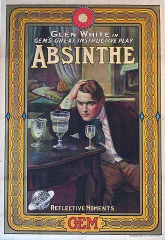 Glen White (actor) - Image: Absinthe (1913) Glen White