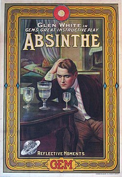 Glen White (actor) Absinthe Glen White