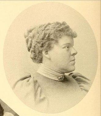 Arthur Pue Gorman - Ada Gorman in 1895