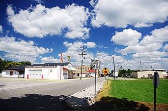 Adairville, Kentucky - Gallatin Street (KY 591) in Adairville