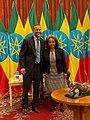 Adam Boehler and Sahle-Work Zewde in Addis Ababa - 2019 (1).jpg