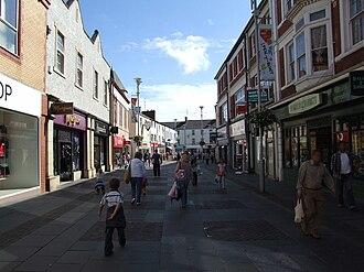 Bridgend - Adare Street Bridgend 2008