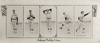 Addie Joss - Image: Addie Joss five frames, 1911