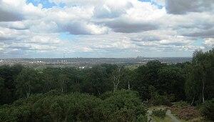 Addington Hills - Image: Addington hills view
