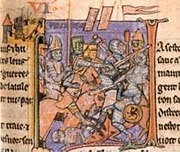 Adhemar de Monteil carries the Holy Lance