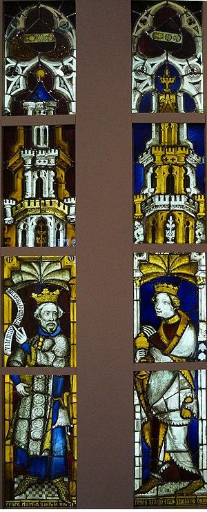 Hermann von Münster - Image: Adoration des rois mages 1390 Herman von Munster 08947