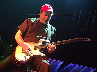 Adrian Belew American musician, songwriter, and record producer