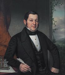 Portret van Adrianus Anthony Vinju (1799-1860)