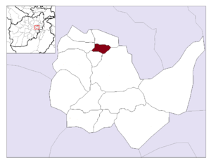 Kalakan District - Image: Afghanistan Kabul Province Kalakan District