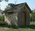 Agra Lake (Kansas) N outhouse 1.JPG