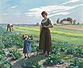 Aimé Perret The lettuce patch 1893.jpg