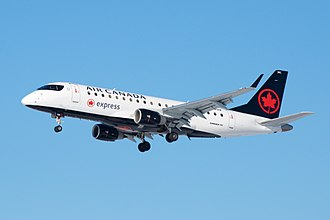 Air Canada Express - An Air Canada Express Embraer E175 in the new livery