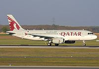 A7-AHD - A320 - Qatar Airways