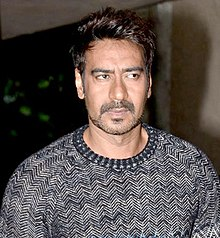 A photograph of Ajay Devgn taken in 2014